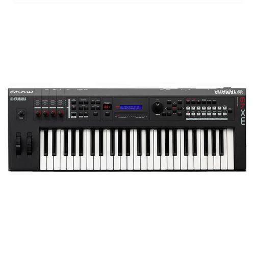 Teclado Sintetizador MX61BRA com Fonte Preto Yamaha