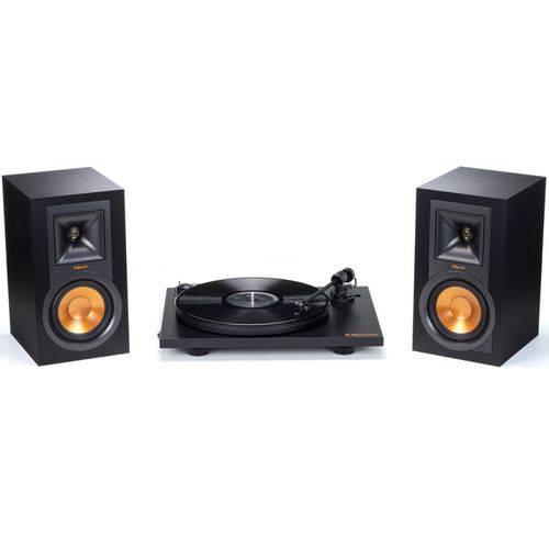 Toca Disco Klipsch com Conjunto de Som e Toca Disco Klipsch R-15PM