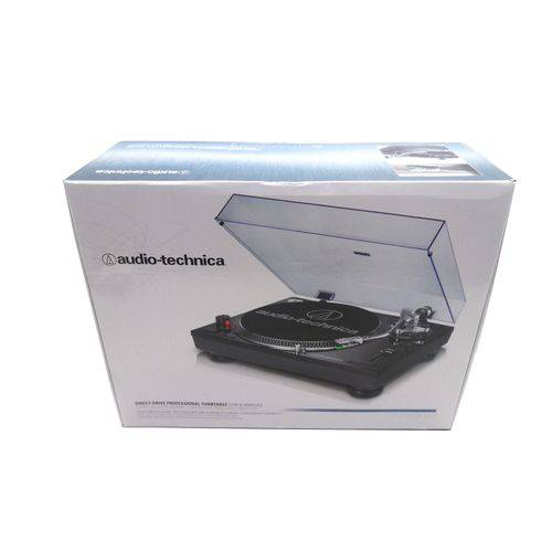 Toca Discos Audio Technica AT-LP120 USB Profissional Preto