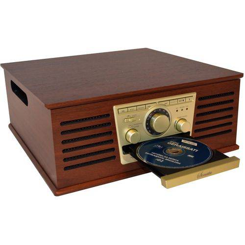 Toca-discos Ctx Sonata com Cd Player e Usb Record