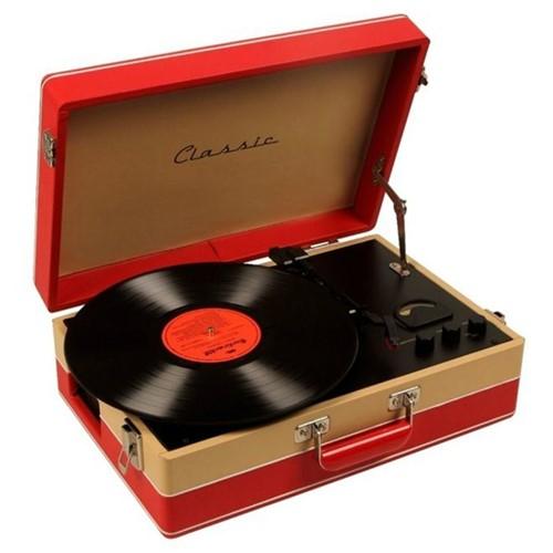 Toca-Discos Vinil Retrô Dallas 35.309 Classic