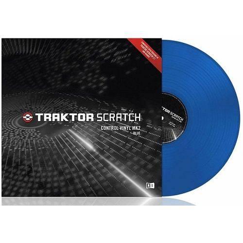 Traktor Color Vinyl Blue Mk2 Native Instruments
