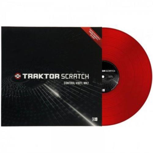 Traktor Color Vinyl Red Mk2 Native Instruments