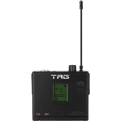 Transmissor Bodypack para Microfone Tagima Tag Sound Tg-88bp Sem Fio Uhf