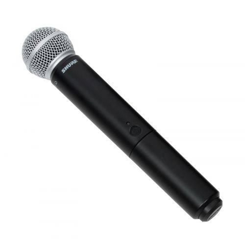 Transmissor Microfone Sem Fio Shure BLX2 SM58 J10