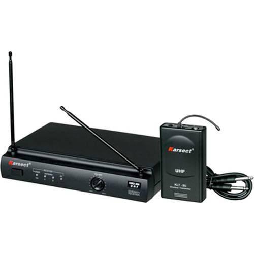 Transmissor Sem Fio Karsect KRU301 UHF, para Instrumentos, com Maleta