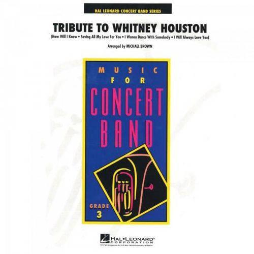 Tribute To Whitney Houston Score Parts Essencial Elements