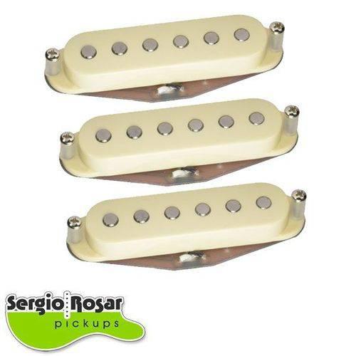 Trio de Captadores Sergio Rosar Blues Aged White