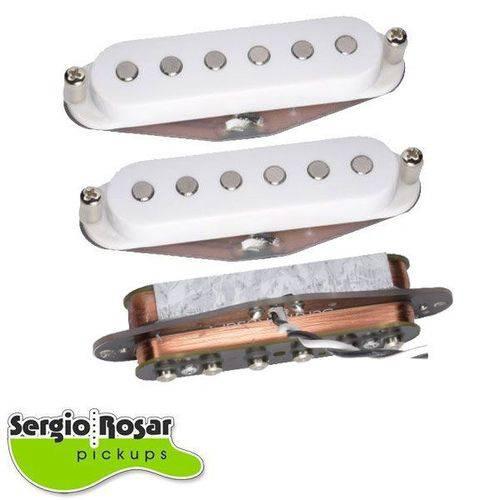 Trio de Captadores Sergio Rosar Vintage Noiseless Branco
