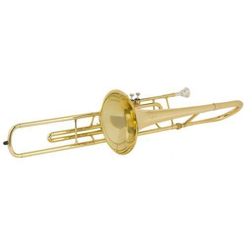 Trombone Curto Prowinds Sib Laqueado - PW725-L