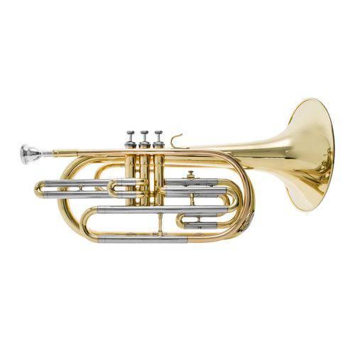 Trombone de Marcha Sib Prowinds - Corpo Laqueado #PW700-L