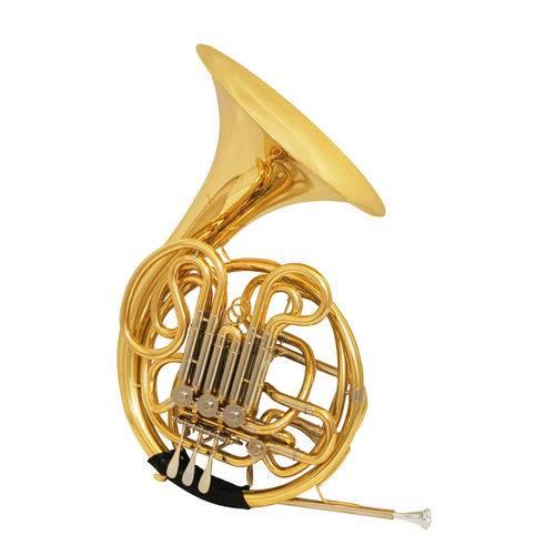 Trompa Dupla Fá/sib Zion By Plander Tp601l 4 Rotores Laquea