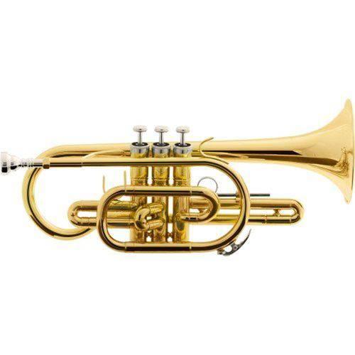 Trompete Cornet Bb Hcr-900L Laqueado Harmonics