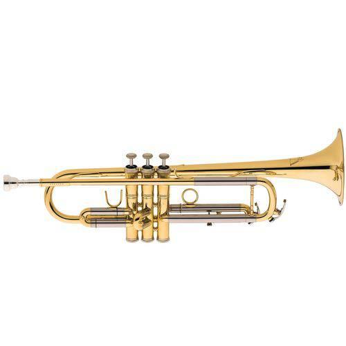 Trompete Eagle TR-504 Sib Laqueado