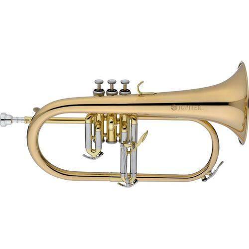 Trompete Jupiter Flugelhorn Rose Brass Jfh1100r Bb com Case