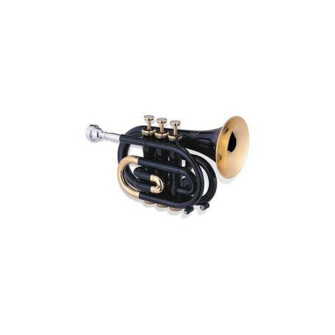 Trompete Jupiter Jpt461bl Blk - Black