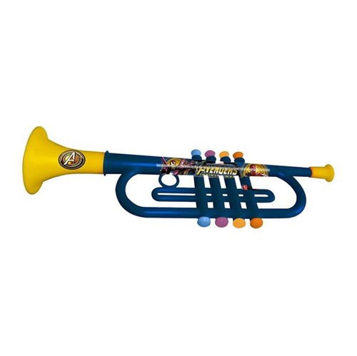 Trompete Musical Infantil Azul Vingadores Toyng