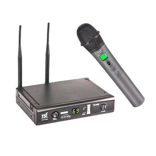 Tsi - Microfone Sem Fio de Mão 8099