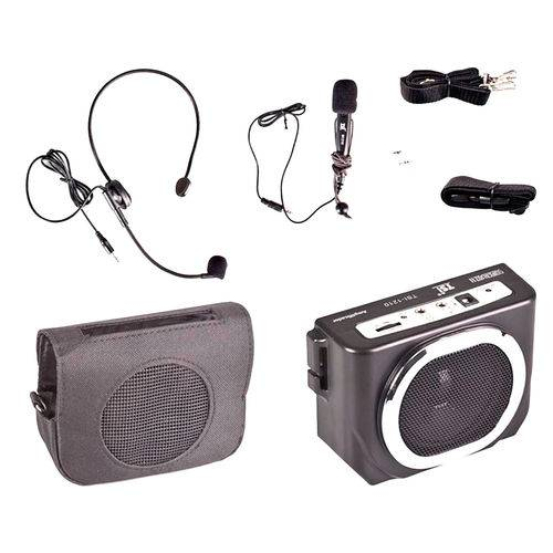 Tsi1210 - Kit Professor Portátil C/ Caixa + Microfone C/ Fio Supervoz Ii Tsi 1210 - Tsi