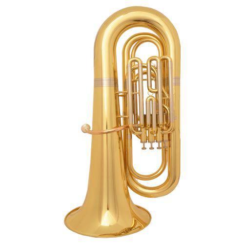 Tuba 4/4 Sib Zion By Plander Bb534l 4 Pistos Superiores Laqueada
