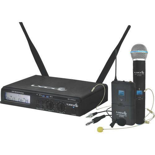 Uhx Pro 02 Mhli - Microfone S/ Fio Headset / Instrumento / Lapela / Mão Uhxpro 02mhli Lyco