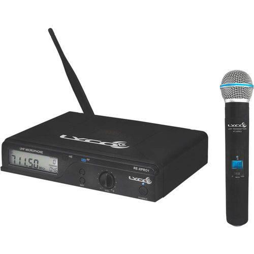 Uhx Pro 01 M - Microfone S/ Fio de Mão Uhxpro-01m Lyco