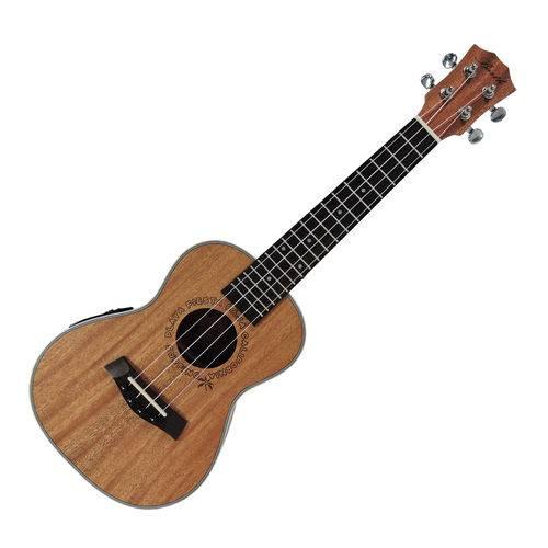 Ukulele Concert Barth Guitars Eletro Acústico Natural