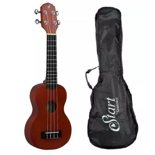 Ukulele Soprano Acustico Giannini Uks-21 Ns + Bag