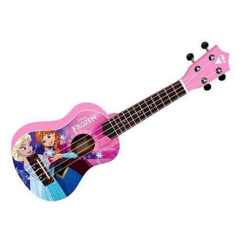 Ukulelê Soprano Infantil Phoenix Disney Frozen Pink UKP-F2