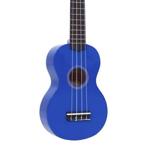 Ukulele Soprano Mahalo Mr1 Azul Mr1bu Aquila
