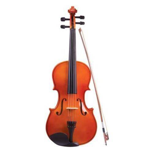 Viola de Arco 4/4 Concert Vc-44 - Natural, C/Estojo