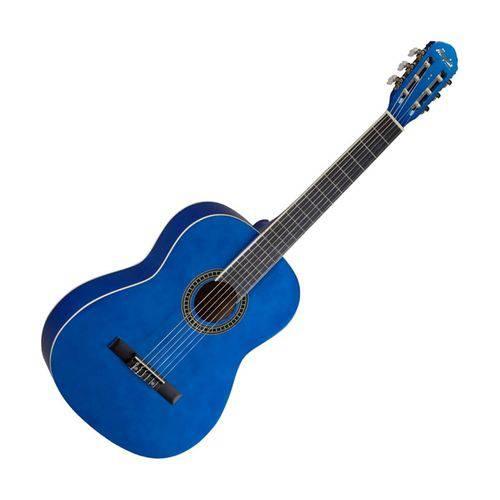 Violão Acústico Memphis 6 Cordas Nylon AC 39 Azul