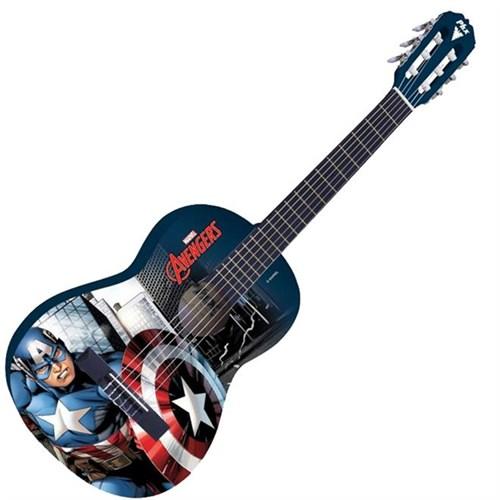 Violão Acústico Nylon Infantil Marvel Capitão América PHX