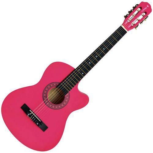 Violão Eletroacústico Auburn AUBVO626BE1 Cutway Verniz Pink