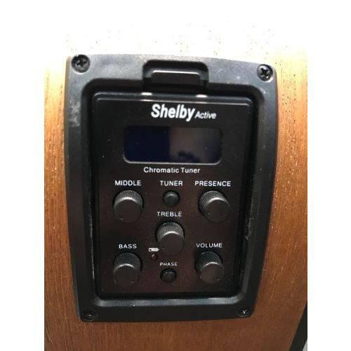 Violão Eletroacústico Eq 3 Bandas Aço Cappiezo Sn61c Shelby