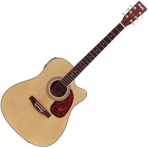 Violão Eletroacústico Folk C/ Equalizador Md18 Nt Memphis