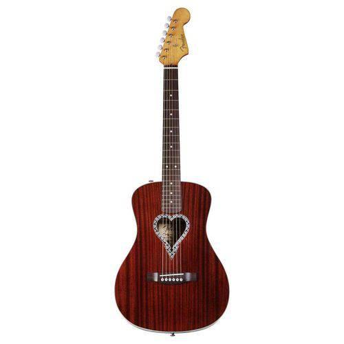 Violao Fender 096 8325 - Alkaline Trio Malibu - 021 - Mahogany