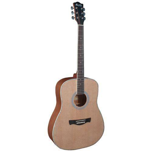 Violão Folk Aço Acústico Memphis Md20 Natural