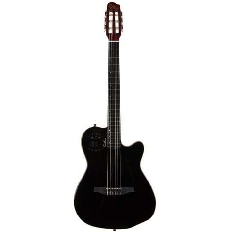 Violao Godin Acs Nylon C/ Bag Bk- Black Pearl