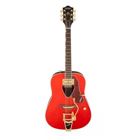 Violao Gretsch Rancher C/ Bigsby G5034tft Acoustic Collection Savannah Sunset