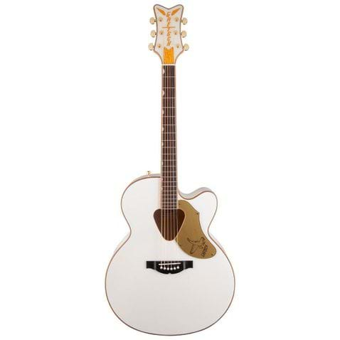 Violao Gretsch Rancher Falcon Jumbo Cutaway G5022cwfe Acoustic Collection White