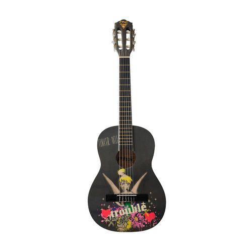 Violão Infantil Phoenix Vjt-1 Disney Tinkerbell