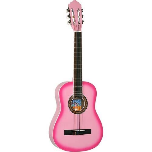 Violão Infantil Shelby Snk66 Clássico Nylon - Rosa