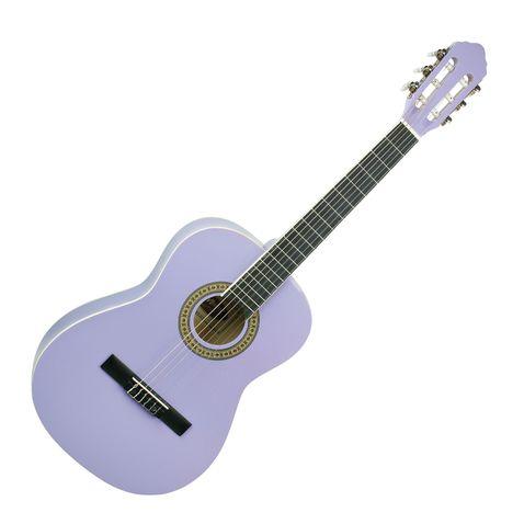 Violao Madrid Md36 Acústico Nylon Infantil Pp - Purple