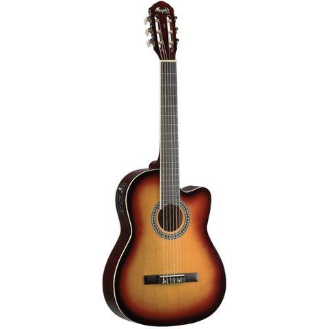 Violao Memphis Ac 60 Nylon El Sb - Sunburst