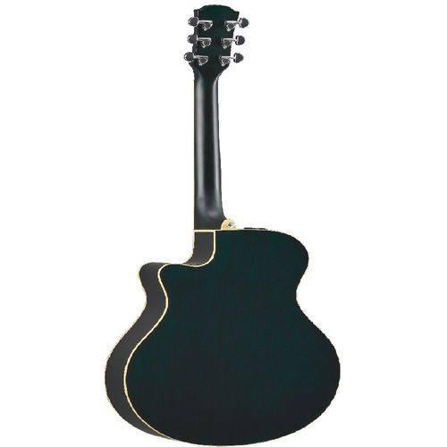 Violão Yamaha Apx 600 Black Eletro-acústico