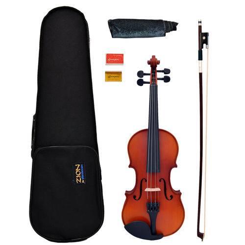 Violino 1/2 Zion By Plander Modelo Primo Antique Madeira Ma
