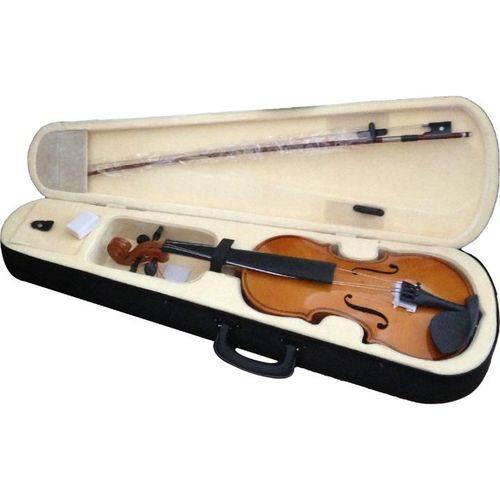 Violino 4/4 Completo Arco Breu Estojo Mov12w Harmony