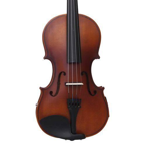 Violino 4/4 Elétrico e Acústico Zion By Plander Modelo Prim