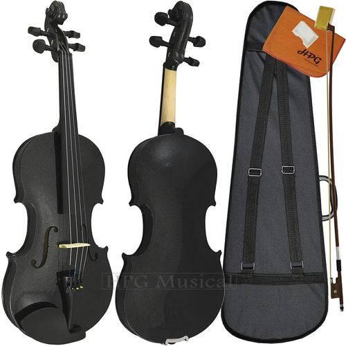 Violino 4/4 Tarttan Série 100 Preto Brilho